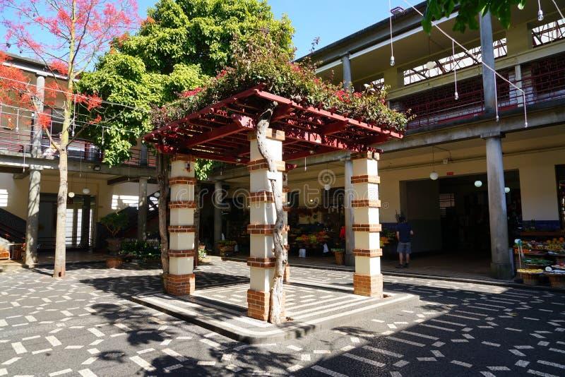 B?nder marknadsf?r i den Funchal madeiran royaltyfri foto