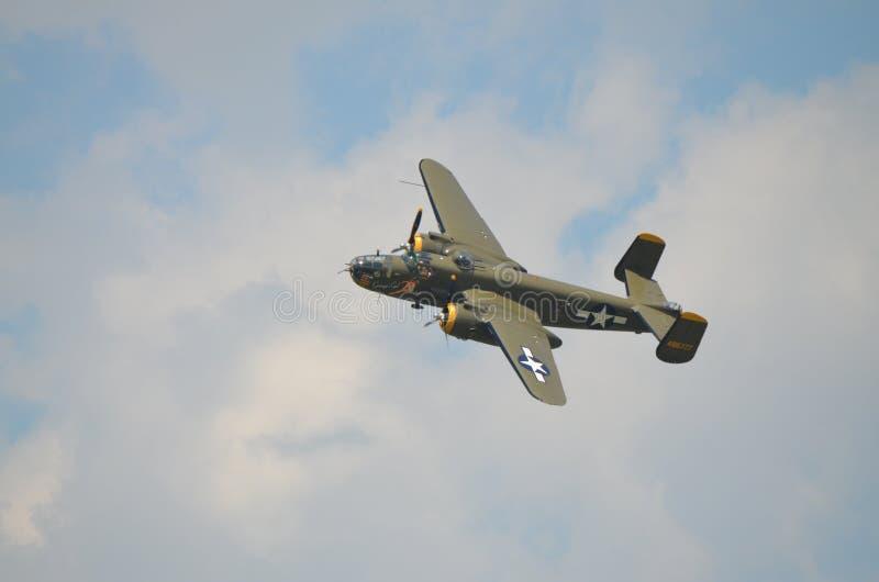 B-25 norteamericano Mitchell fotos de archivo