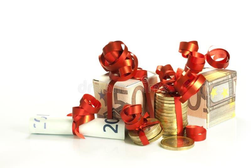 Bônus de Natal fotografia de stock