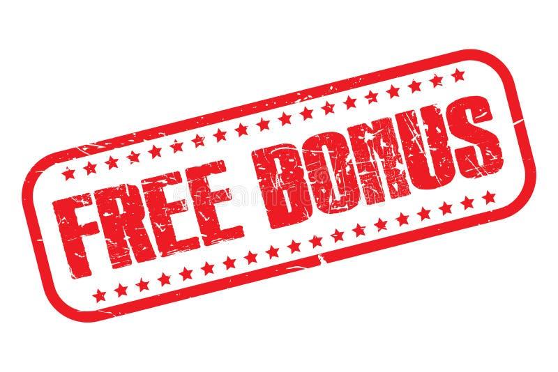 Bônus livre ilustração royalty free