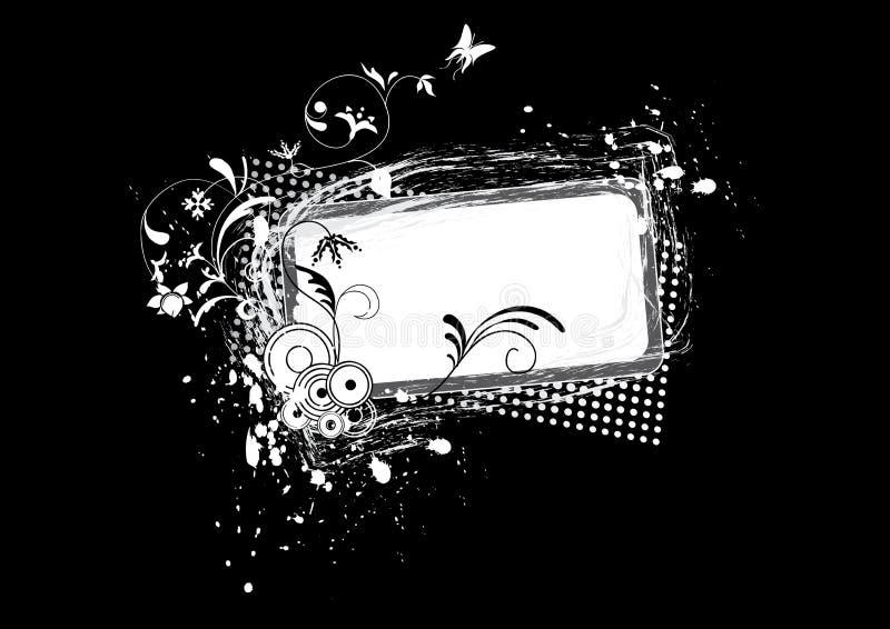 b obramia grunge w royalty ilustracja