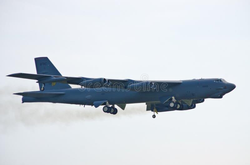 B-52 op Radom Airshow, Polen royalty-vrije stock fotografie