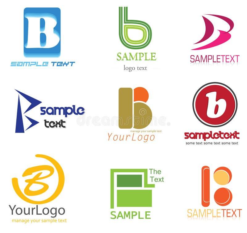 Download B pisze list loga ilustracja wektor. Obraz złożonej z catering - 22214520