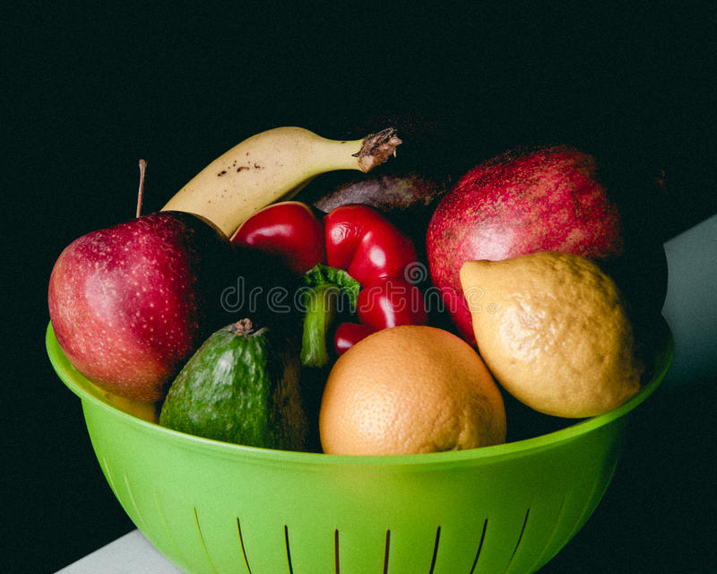 b?r fruktt veggies royaltyfria foton