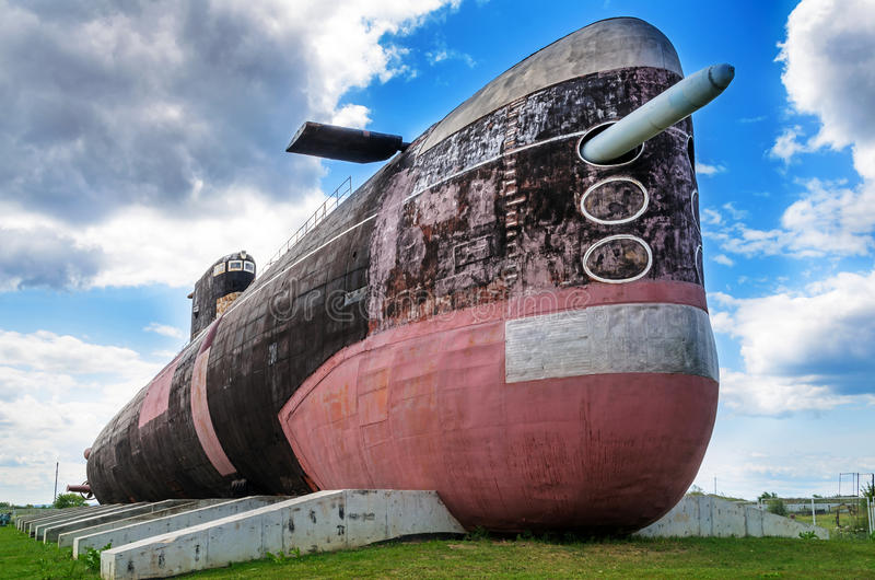 B-307 (1977), Radziecka klasa, elektryczna łódź podwodna, decommissioned 2002 obraz royalty free