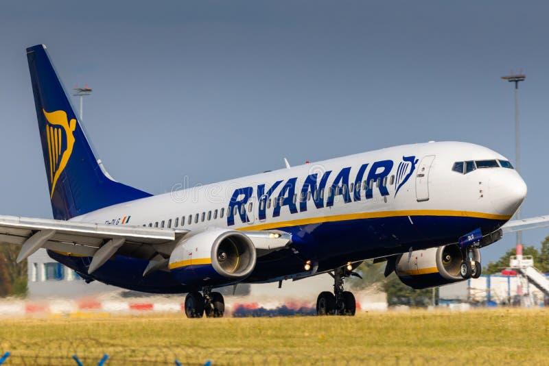 B737 Ryanair stock afbeeldingen