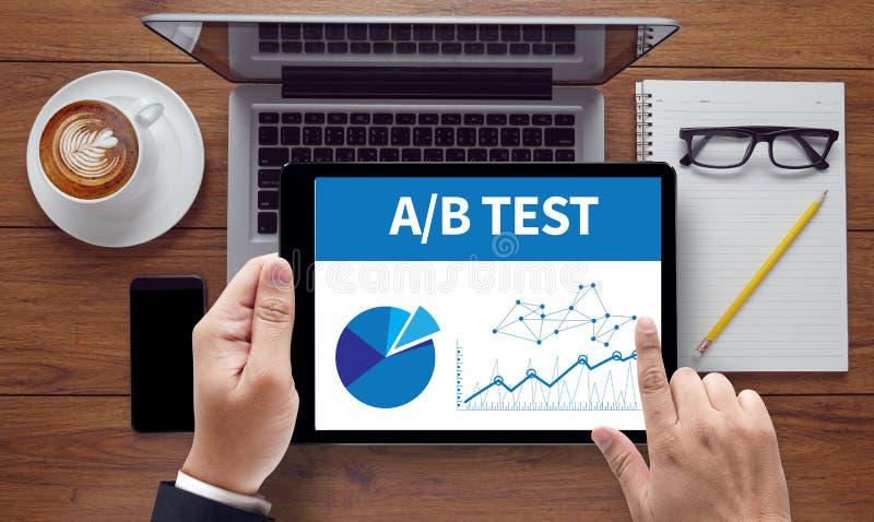 A/B test obrazy royalty free
