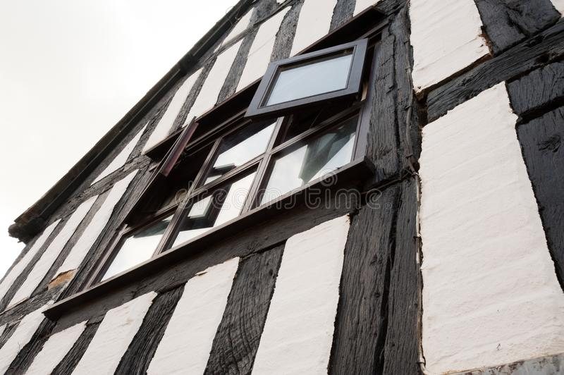 B?timent ? colombage image stock