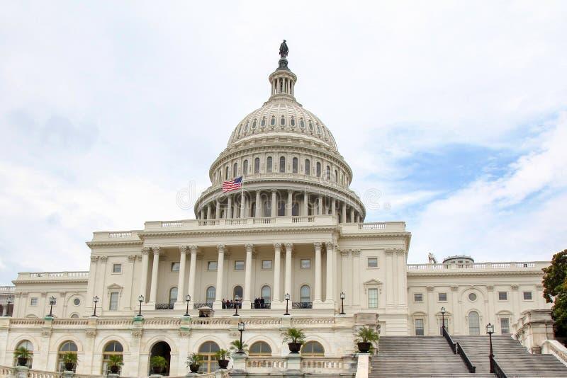 B?timent de capitol des Etats-Unis dans le Washington DC, Etats-Unis Le congr?s d'Etats-Unis photo libre de droits