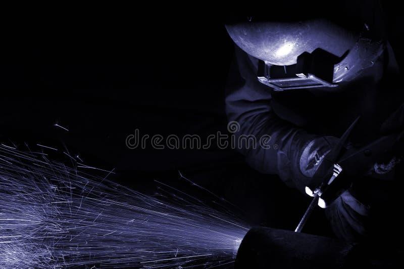 b ue焊接 库存图片