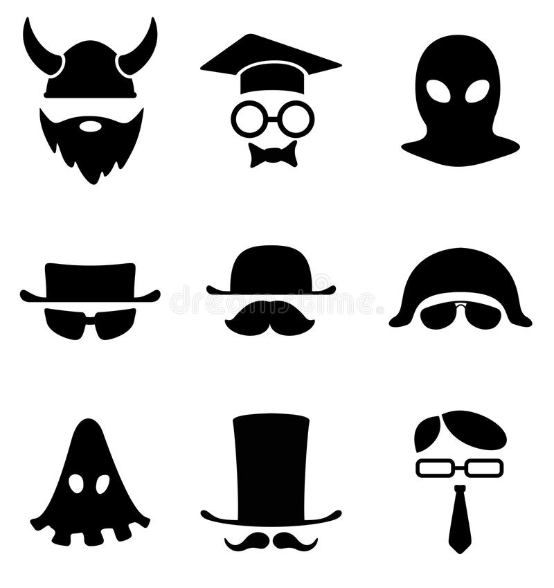 Download B/W Avatar. Royalty Free Stock Images - Image: 27464169