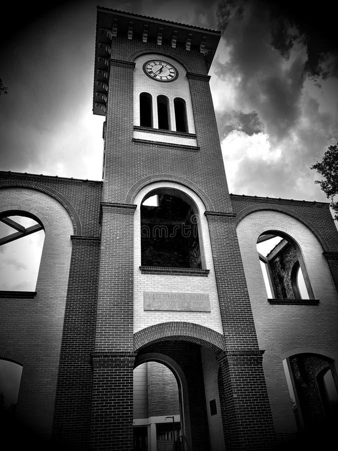 B&W Courthouse II lizenzfreies stockbild