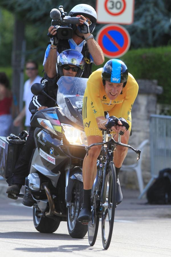 Download B.WIGGINS (SKY - GBR) editorial stock image. Image of stage - 25634249