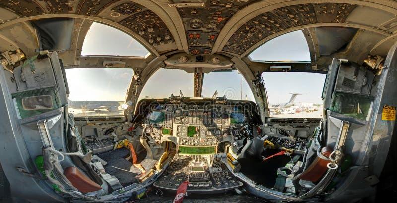 B1 Airforce Bpmber Cockpit Stock Photography Image 25568552
