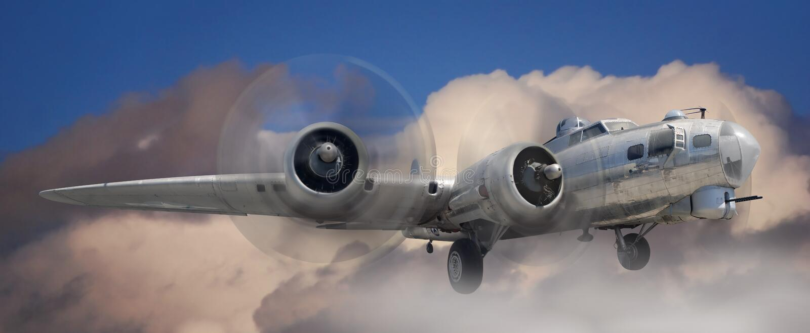 B17 Stratofortress stock photography