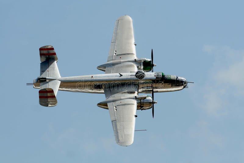 Download B25 Bomber stock photo. Image of propeller, flight, aircraft - 5041032