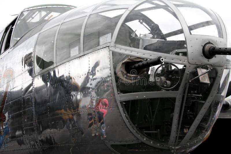 B25 de Close-up van de Neus van Mitchell stock fotografie