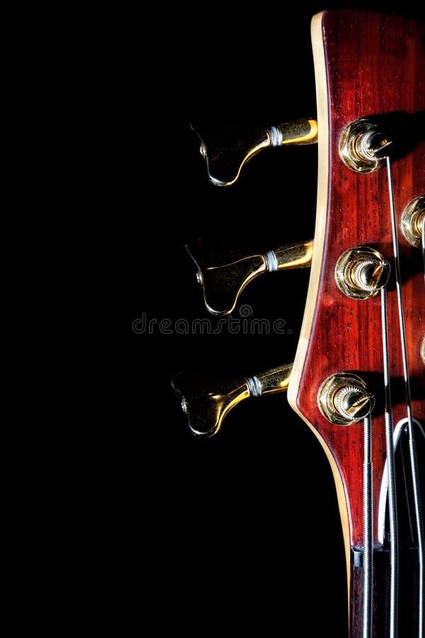 Baß-Gitarre stockbild