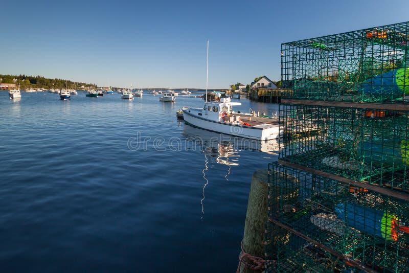 Baß-Hafen, Maine stockfoto