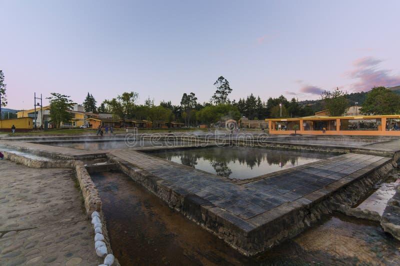 Baños del Inca photographie stock libre de droits