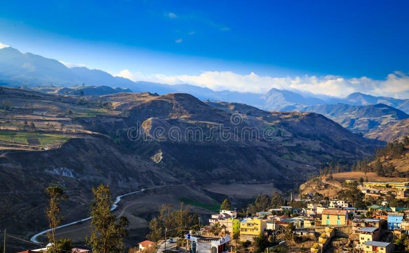Baños i Ecuador arkivfoto