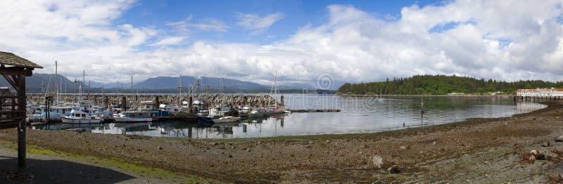 Baía alerta, Canadá BC imagem de stock royalty free