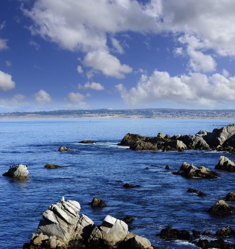 Baía Califórnia de Monterey fotografia de stock royalty free