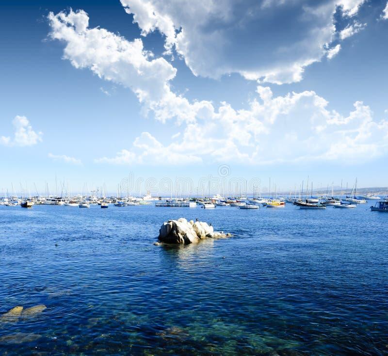 Baía Califórnia de Monterey fotos de stock royalty free