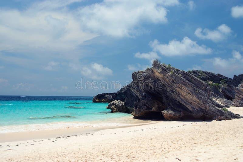 Baía da ferradura da praia fotos de stock royalty free