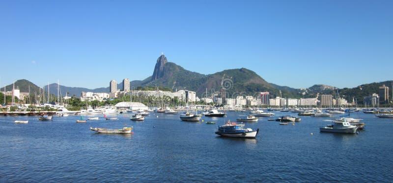 Baía de Guanabara no Rio fotos de stock royalty free