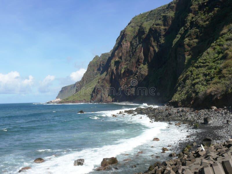 A baía de Jardim estraga da ilha de Madeira imagem de stock royalty free