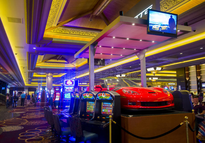 Baía de Las Vegas-mandalay foto de stock royalty free