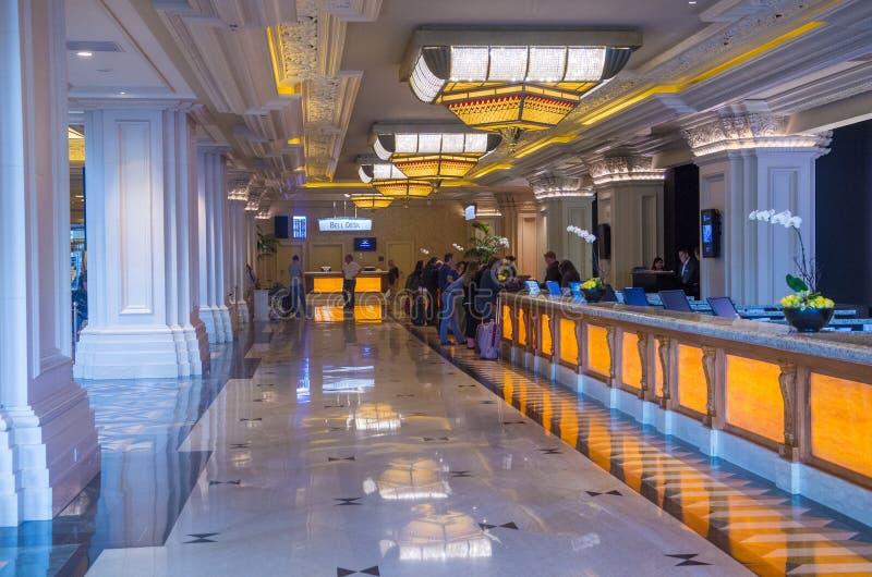Baía de Las Vegas-mandalay imagens de stock royalty free