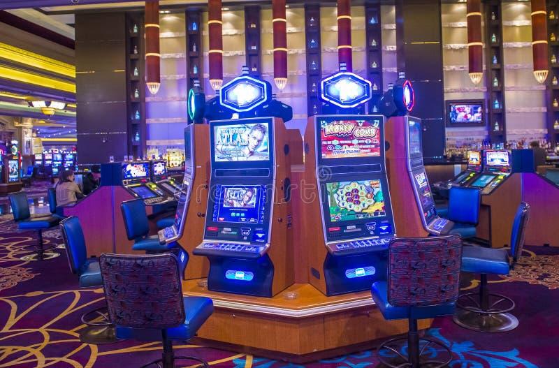 Baía de Las Vegas-mandalay fotografia de stock