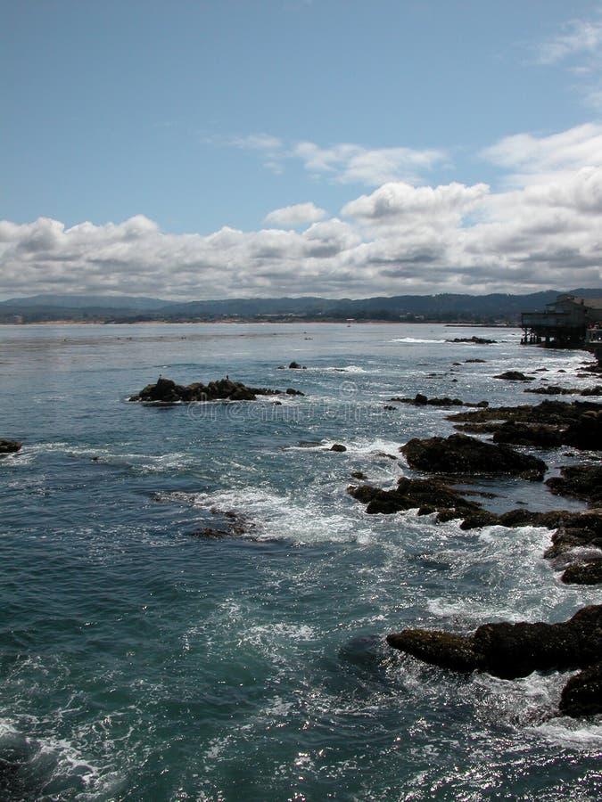 Baía de Monterey, Califórnia imagem de stock royalty free
