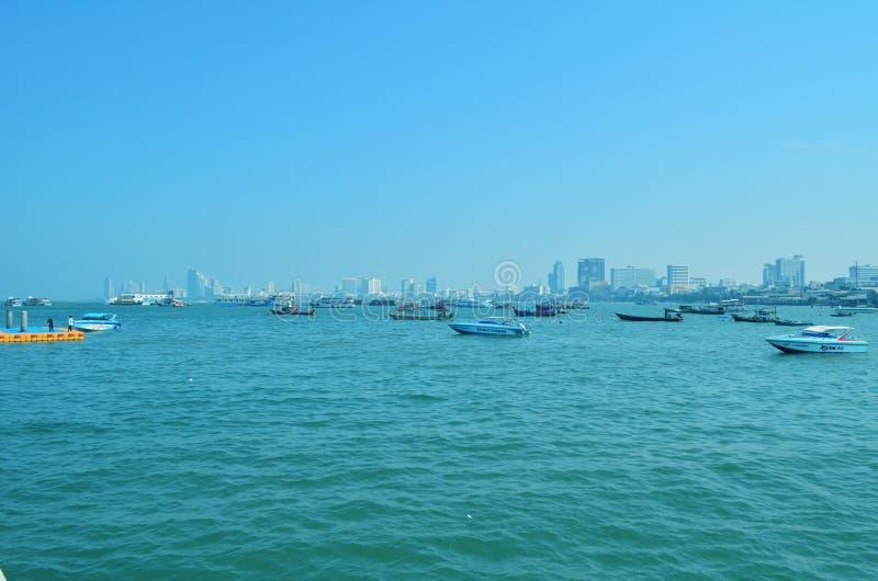 Baía de Pattaya foto de stock royalty free