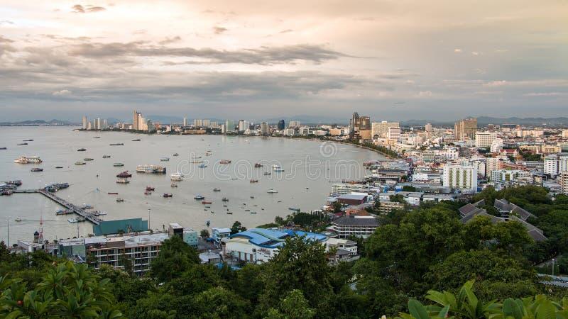 Baía de Pattaya fotos de stock
