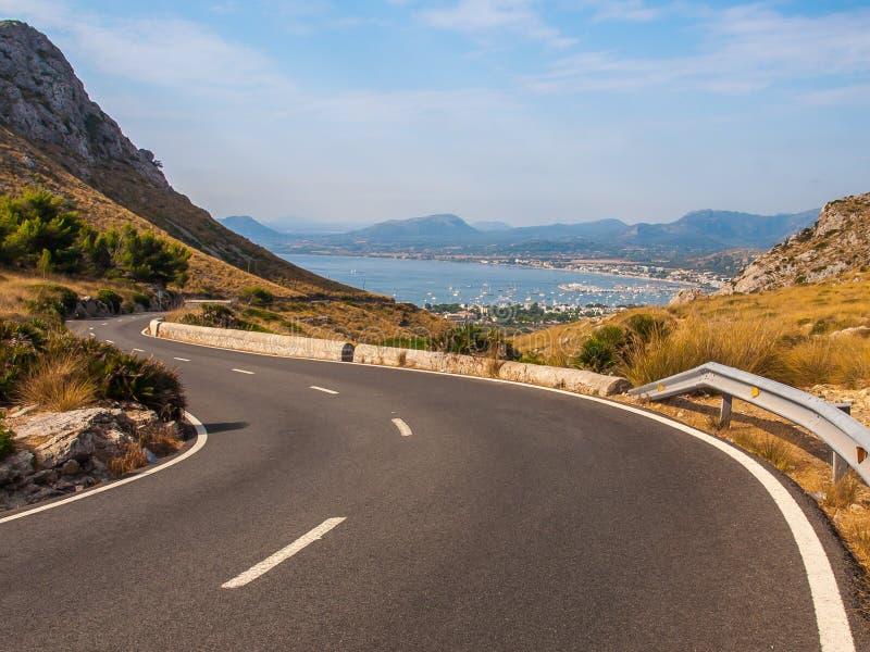 Baía de Pollensa, Mallorca imagens de stock royalty free