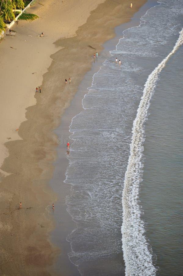 Baía de San Juan del Sur fotografia de stock