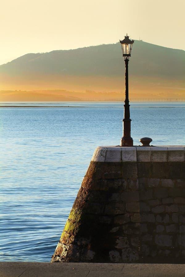 Baía de Santander fotografia de stock
