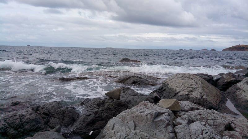 Baía de Sisiman fotografia de stock