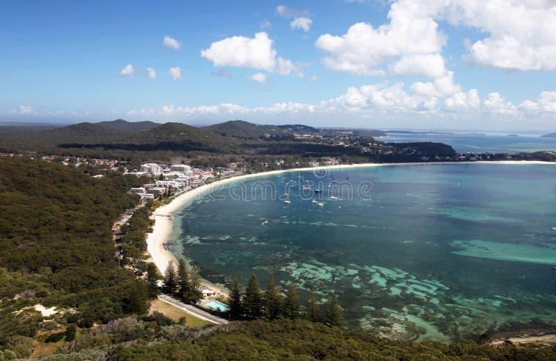 Baía do banco de areia - Austrália fotos de stock royalty free