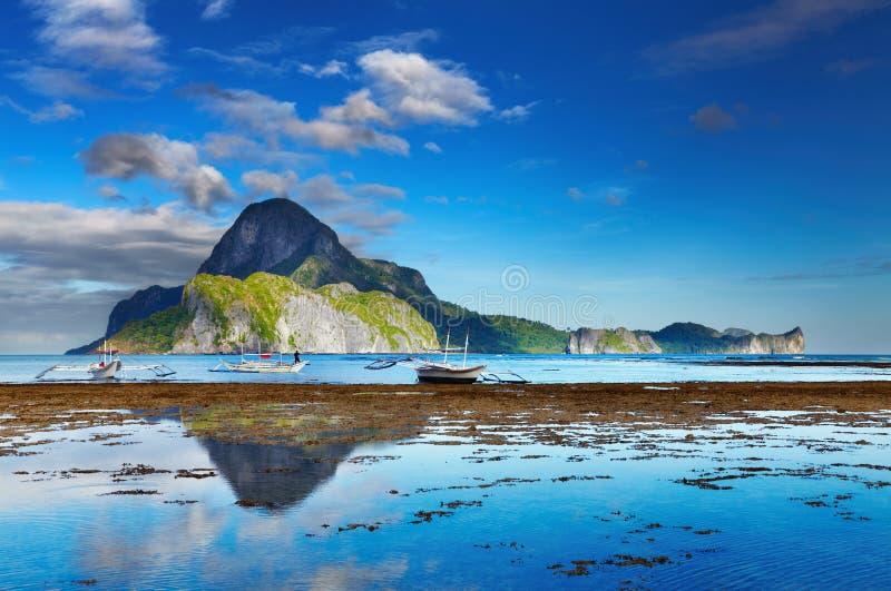 Baía do EL Nido, Filipinas imagens de stock royalty free