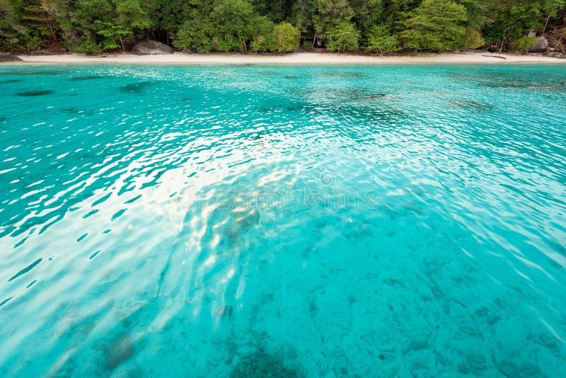 Baía e praia da lua de mel na ilha de Similan, Tailândia imagens de stock royalty free
