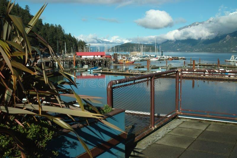Baía em ferradura, Columbia Britânica ocidental de Vancôver canadá foto de stock