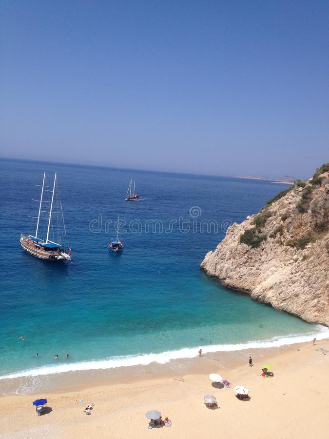 Baía mediterrânea fotos de stock