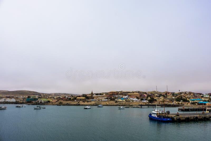 Baía Namíbia de Luderitz foto de stock royalty free
