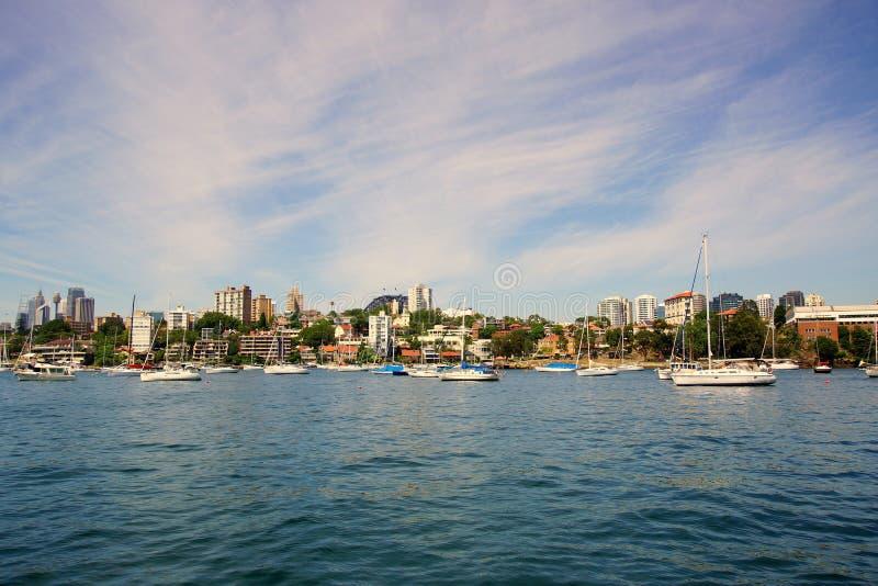 Baía neutra, Sydney Harbour, Austrália imagens de stock royalty free