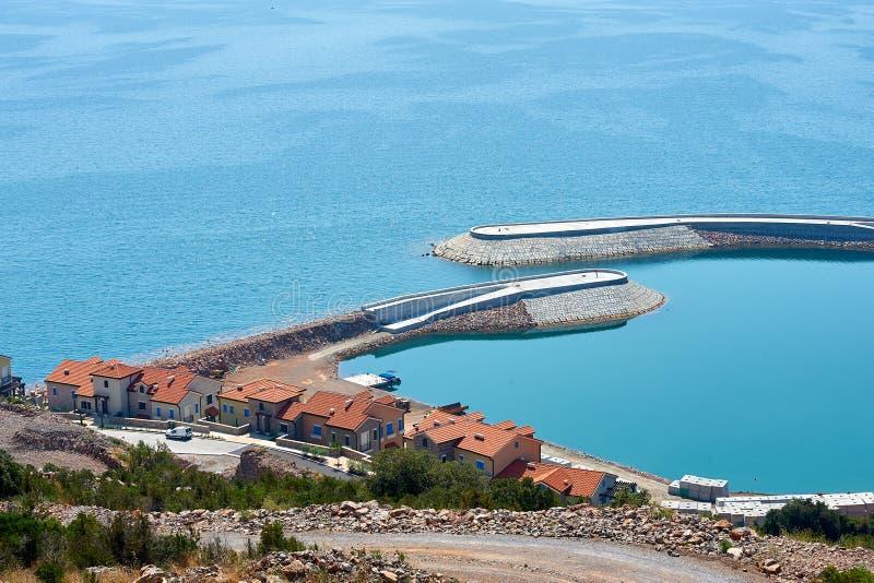 Baía quieta, MONTENEGRO/Radovici fotografia de stock royalty free