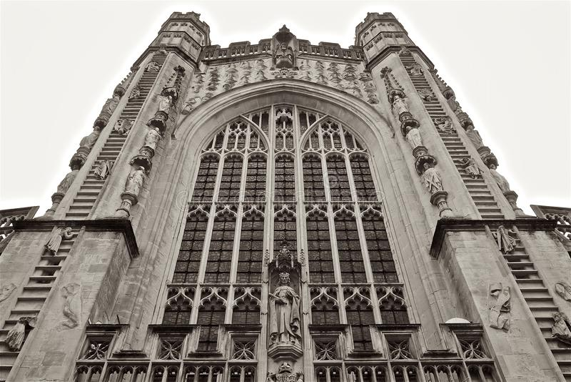 Baño Abbey Church United Kingdom imágenes de archivo libres de regalías